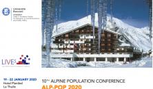 10th Alpine population conference