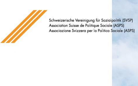 """""""L'Etat social: un rempart face à la crise?"""": Congrès de l'Association suisse de politique sociale"""