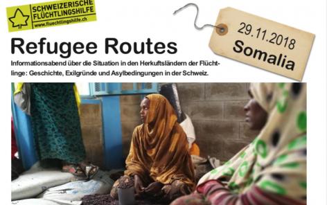 Refugee Routes - Somalia, 29.11.2018, Bern