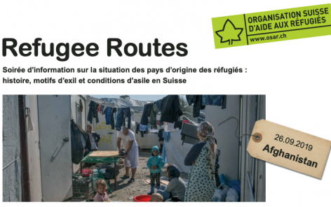Refugee routes: information night about Afghanistan
