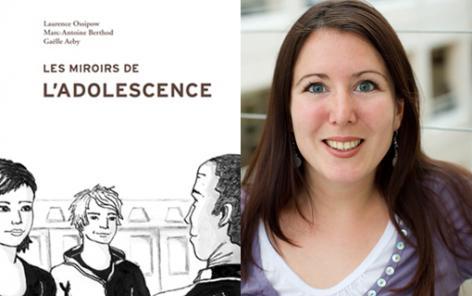 Doctorante et déjà co-auteure d'un livre, Gaëlle Aeby performe dans la transition à l'âge adulte