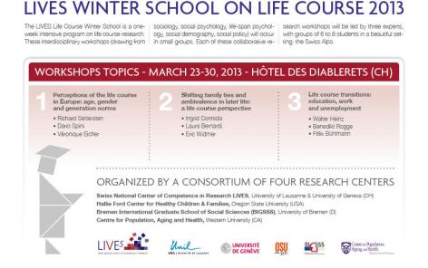Life Course Winter School 2013