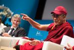 The Dalai Lama shares his vision of old age with the NCCR LIVES director